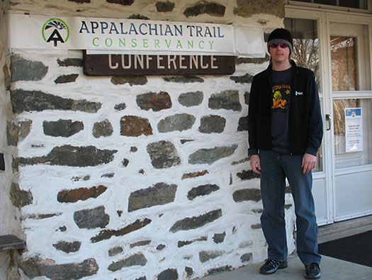 Matt at the ATC HQ in Harpers Ferry WV