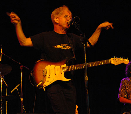 Larry Kirwin plays at the State Theatre in Falls Church VA
