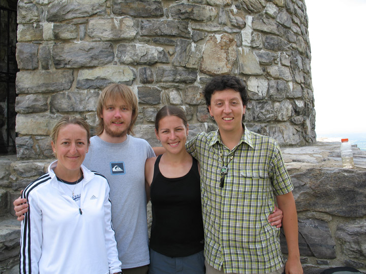 Washington Monument State Park, MD with Tara and AT Thru-hikers,