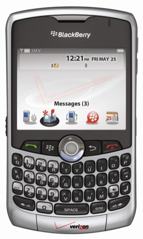 VERIZON WIRELESS BLACKBERRY CURVE 8330